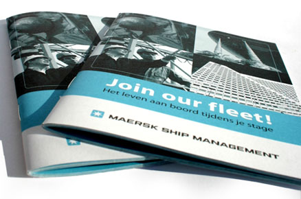 Brochure design maersk