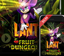 iPhone app Lant & Fruit Dungeons