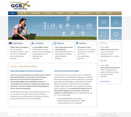 Website maken voor GGB