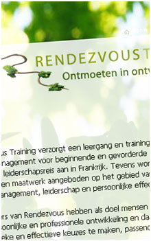 Webdesign website voorbeeld