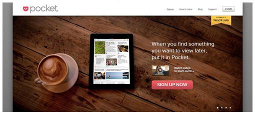 Webdesign trends in 2013: voorbeeld van minimalistisch landingspagina design
