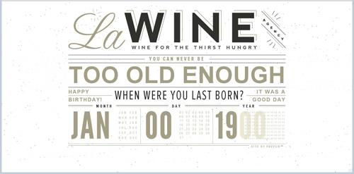 Webdesign trends in 2013: voorbeeld van typografie in plaats van afbeeldingen